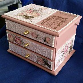 Wooden Craft Boxes To Decorate Pinözlem Serehanoglu On Ahsap  Pinterest  Box And Craft