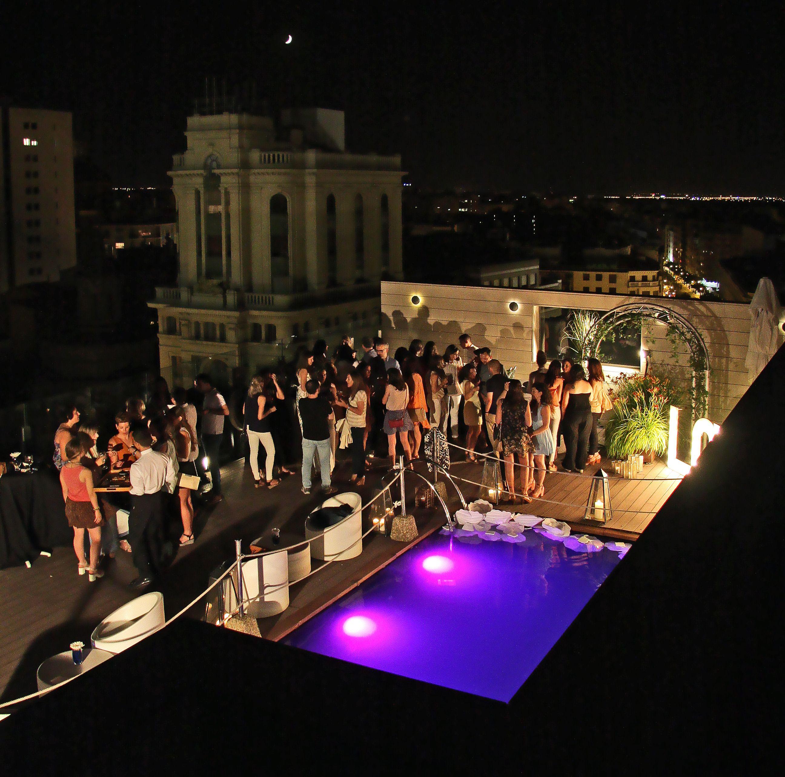 Cóctel Preboda En La Terraza Del Hotel Alfonso Salones
