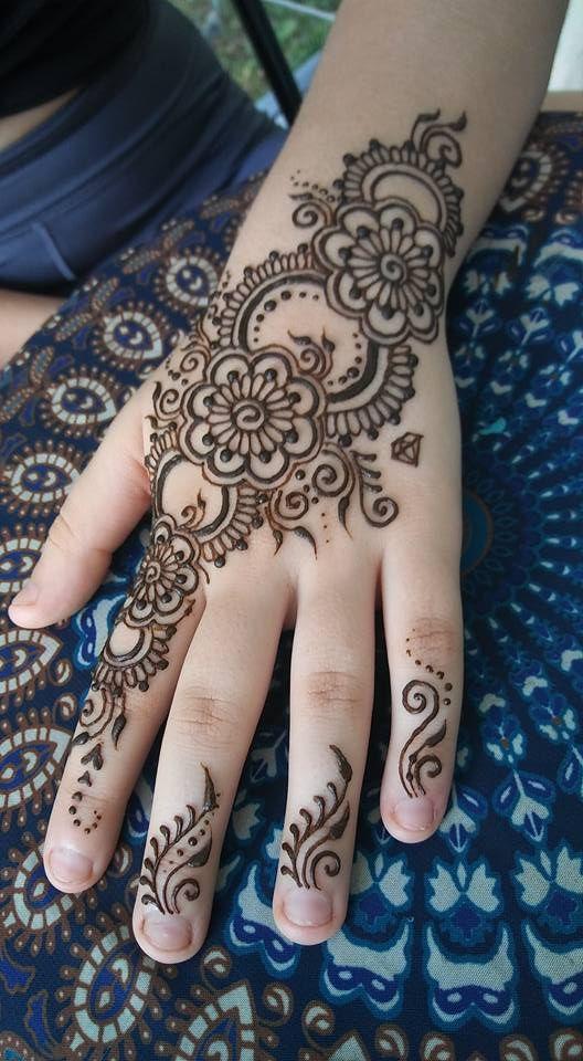 Pin De Houda Dardouche En Henna Henna Y Tatuajes