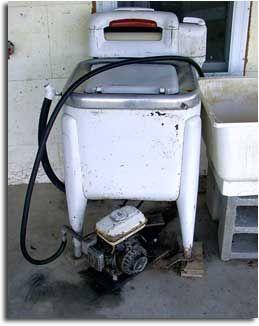 Amish Gasoline Powered Washing Machine Vintage Laundry Maytag