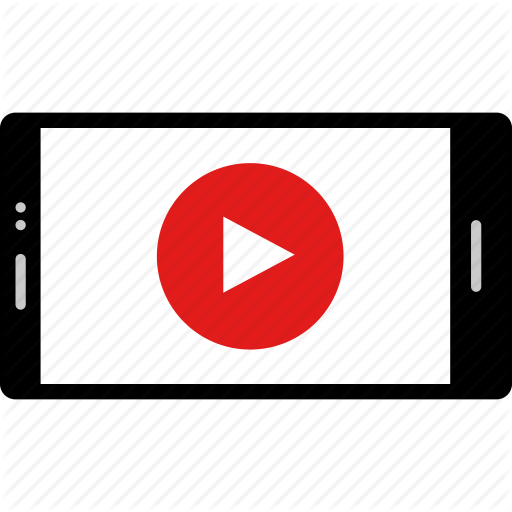 Cell Online Phone Play Video Web Youtube Icon Download On Iconfinder Online Phone Icon Online