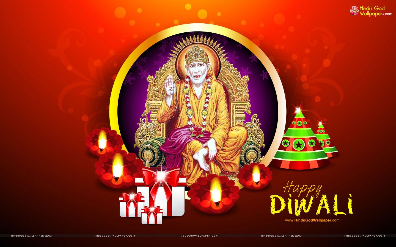 Shirdi Sai Baba Diwali Wallpaper Free Download Goddesses Sai