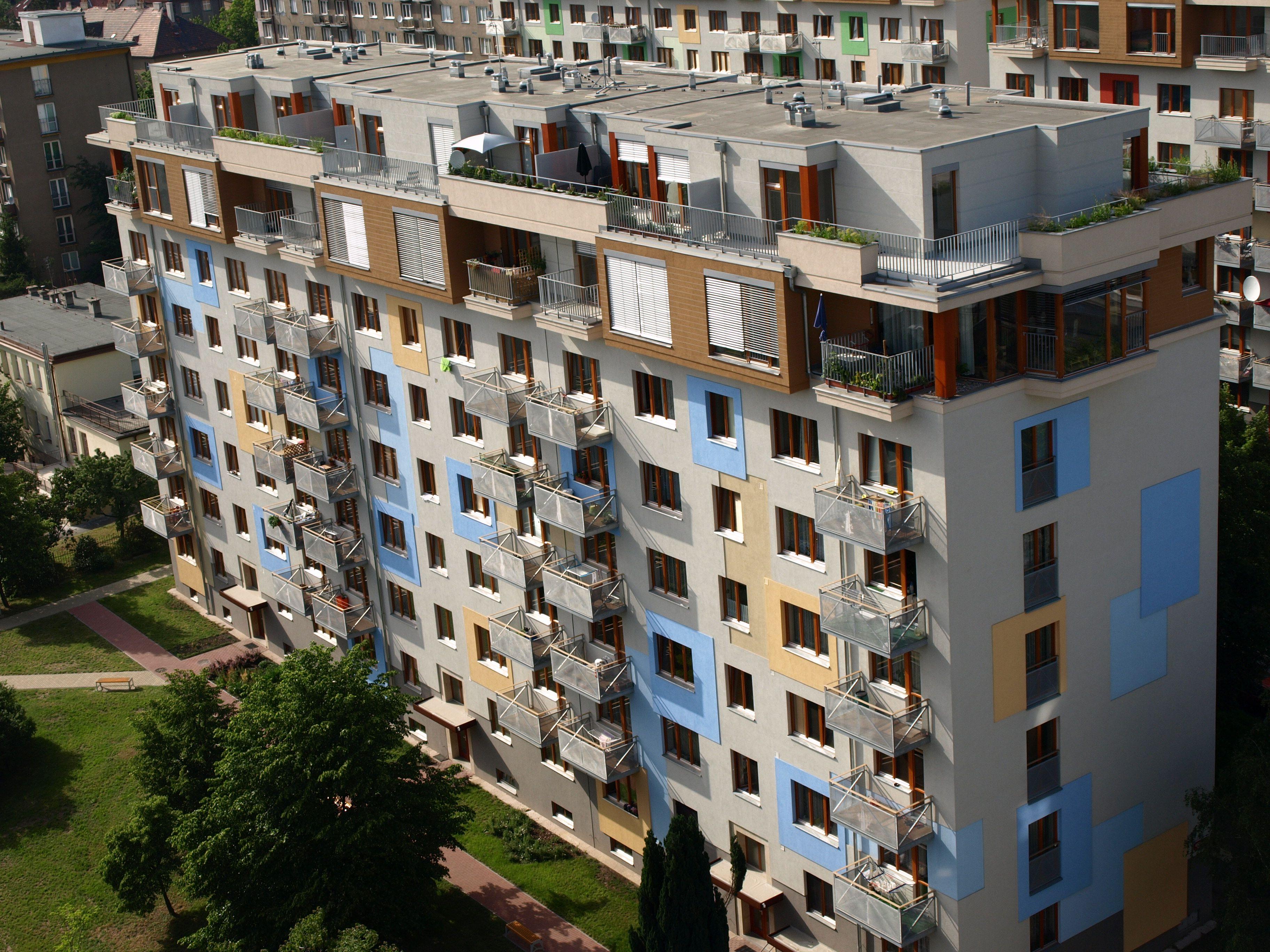 Plochá #strecha výškové budovy