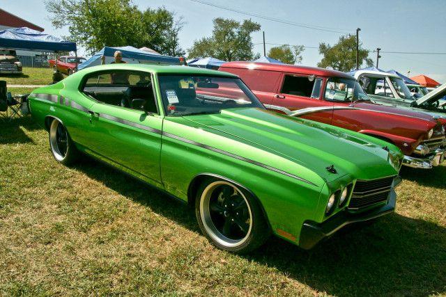 Chevelle 2013 Auto Show Green