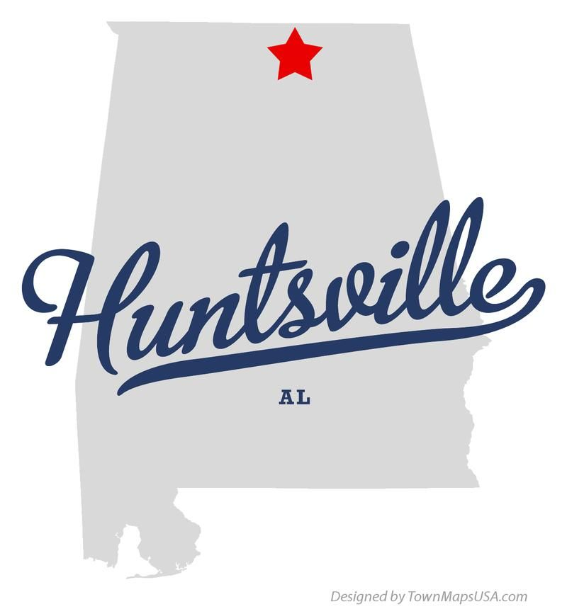 huntsville alabama Map of Huntsville Alabama AL Sweet Home