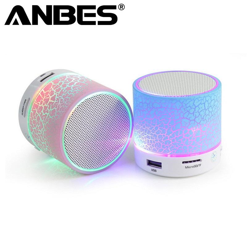 Anbes Smart Led Mini Wireless Bluetooth Speakers Mini Bluetooth