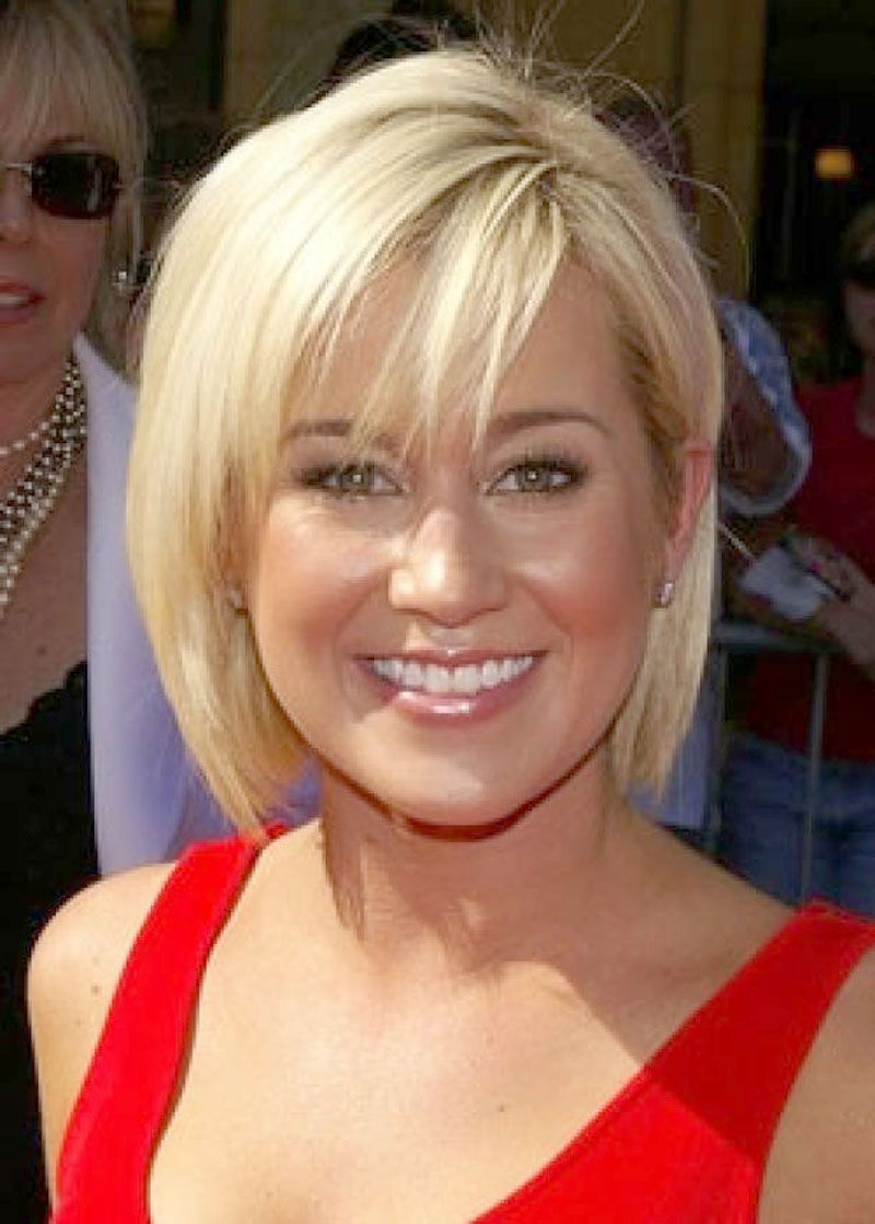 short hairstyles for round faces women over 40 | hair | pinterest