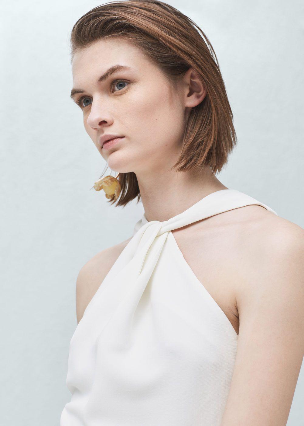 Ocbrdxew Halter Vestido Pinterest Mujermoda Dresses Joven Cuello TcuF5KJ13l