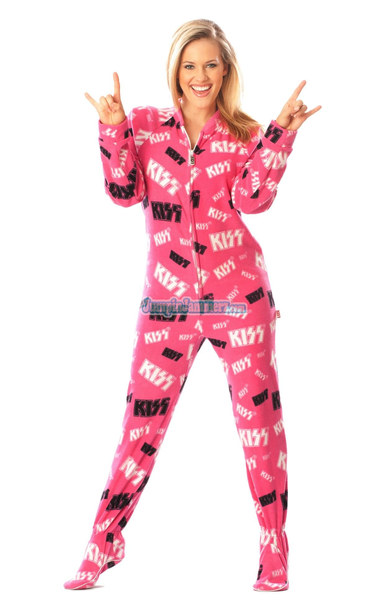 Look below through our huge selection of footed pajamas for men and when you find a pair you like, click on them and you'll find a size chart below the drop down menu on the product page. No matter which brand you buy or which material, you'll love sleeping or just relaxing at home in your new favorite Men's Footed Pajamas.