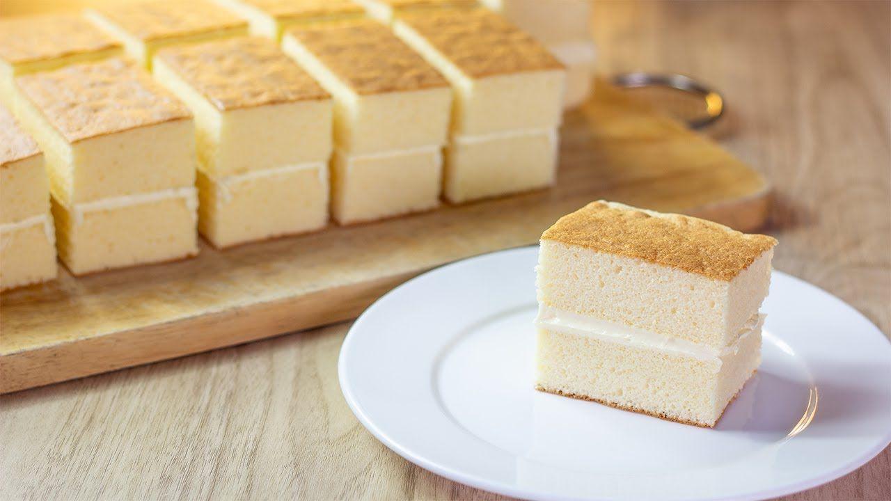 ชิฟฟ่อนเค้กวานิลลา Vanilla Chiffon Cake เค้กชิฟฟ่อนนุ่มๆ  สอดไส้บัตเตอร์ครีมหอมหวาน - YouTube   อาหาร, ของหวาน, ขนม