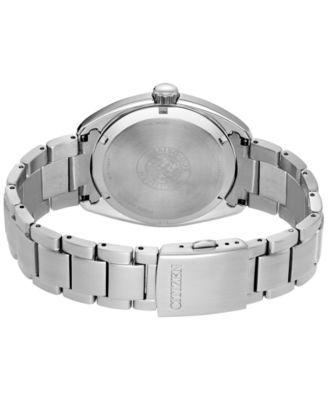 Citizen Men's Eco-Drive Dress Stainless Steel Bracelet Watch 43mm BU4010-56E - Silver