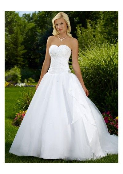 Wedding Dresses Sweetheart Neckline Mermaid Style With Bling