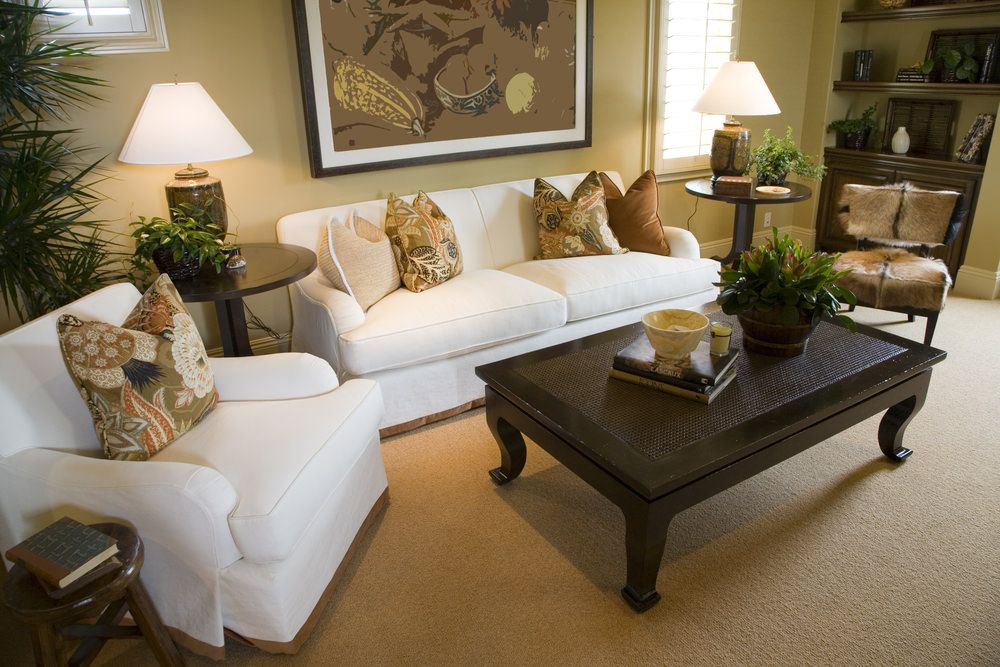 48 Living Rooms with White Furniture (Sofas and Chairs) | White ...