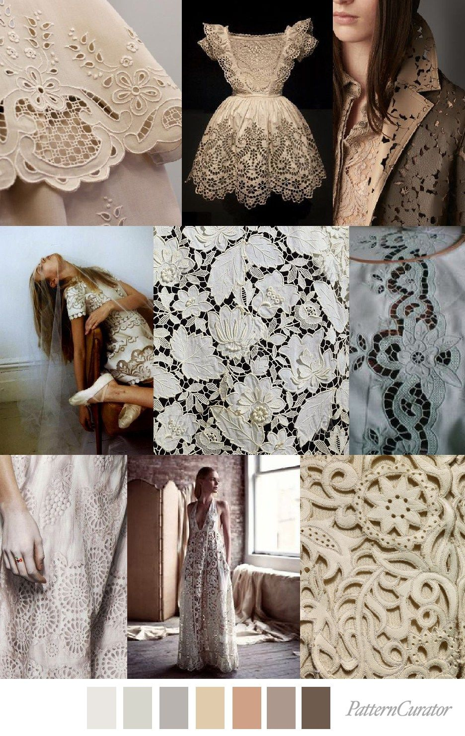 EXTENDED CUT (pattern curator) | lace cut-out | Fashion ...