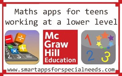 Smart Apps For Special Needs Updated Math apps for teens