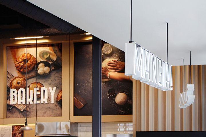 Scandinavian Bakery Rebrands Grocery Store Design Supermarket Design Store Design