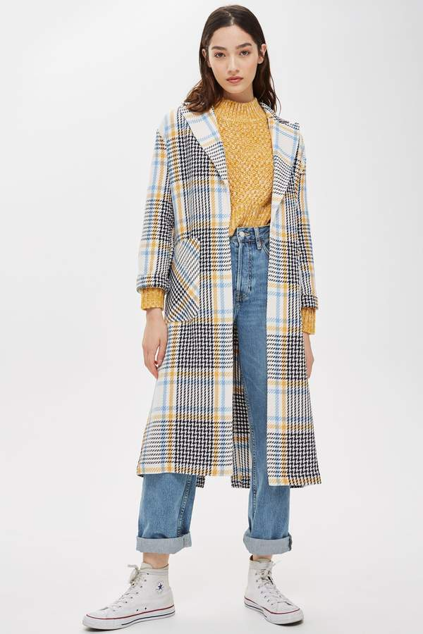erstklassiger Profi offizielle Fotos sehen TALL Blanch Check Duster Coat | clothing | Plaid coat ...