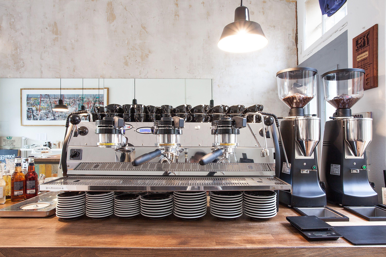 La Marzocco Strada EP & Mazzer grinders. 3rd wave coffee