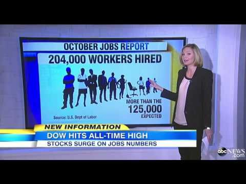 YouTube - October Jobs Report Offers Glimpse Into Holiday Spending Season