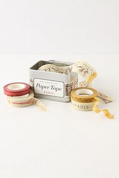 Paris Paper Tape - contemporary - desk accessories - by Anthropologie