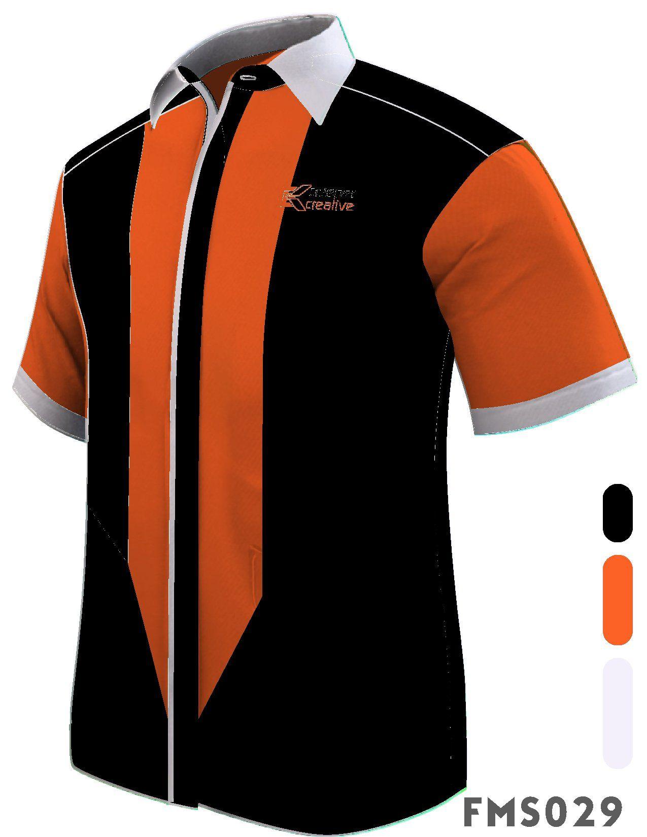 Fms029 F1 Shirts Male Shirts Short Sleeve Corporate Shirts