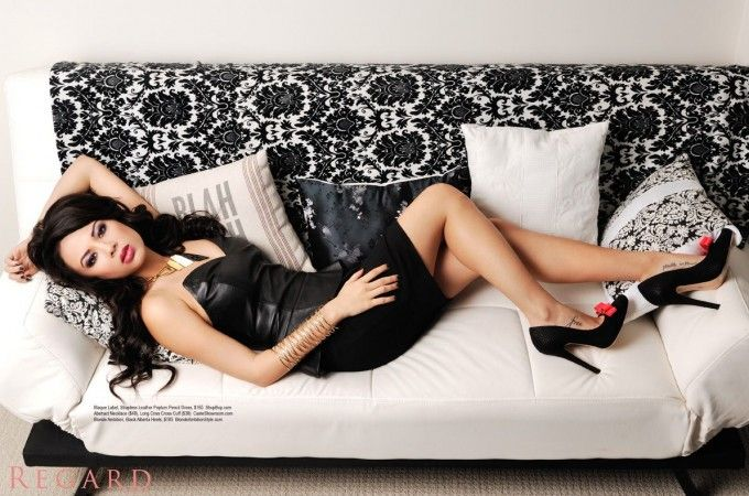 Behind the Scenes – Janel Parrish | Regard Magazine from Pretty Little Liars