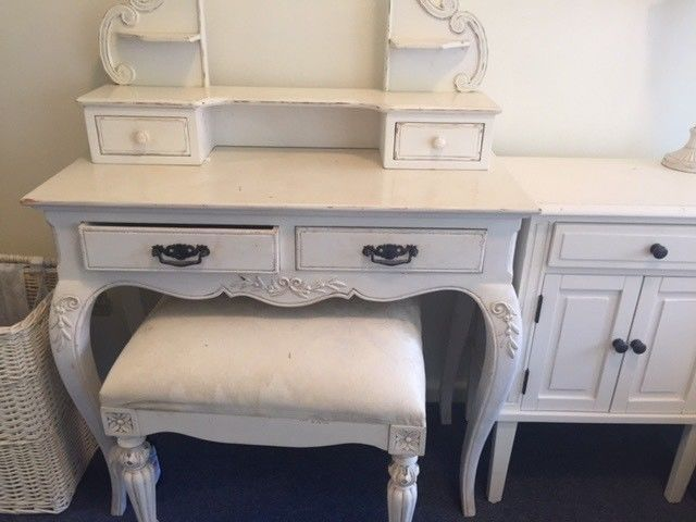French Provincial Dresser Mirror With Matching Stool Dressers Drawers Gumtree Australia In French Provincial Dresser Dresser Drawers Dresser With Mirror