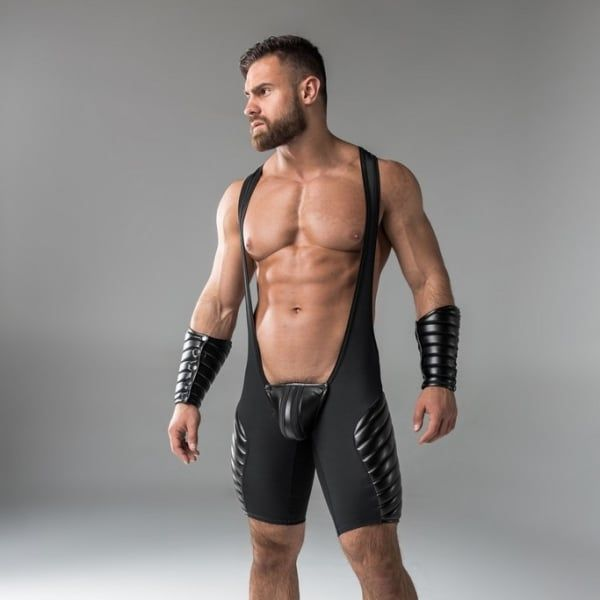 Congratulate, this wrestler fetish lycra for that