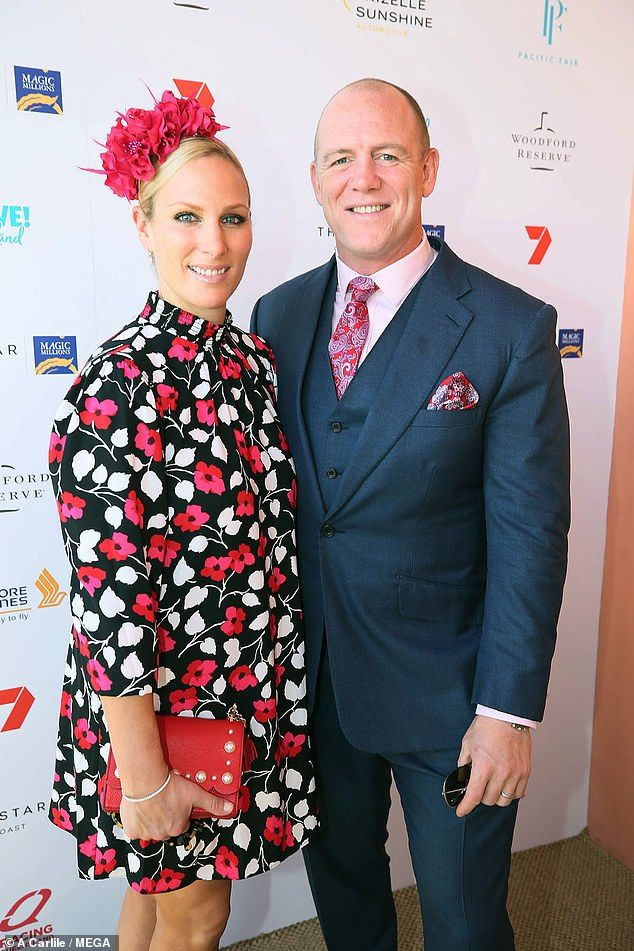 Zara and Mike Tindall join a slew of Aussie stars at Magic ...