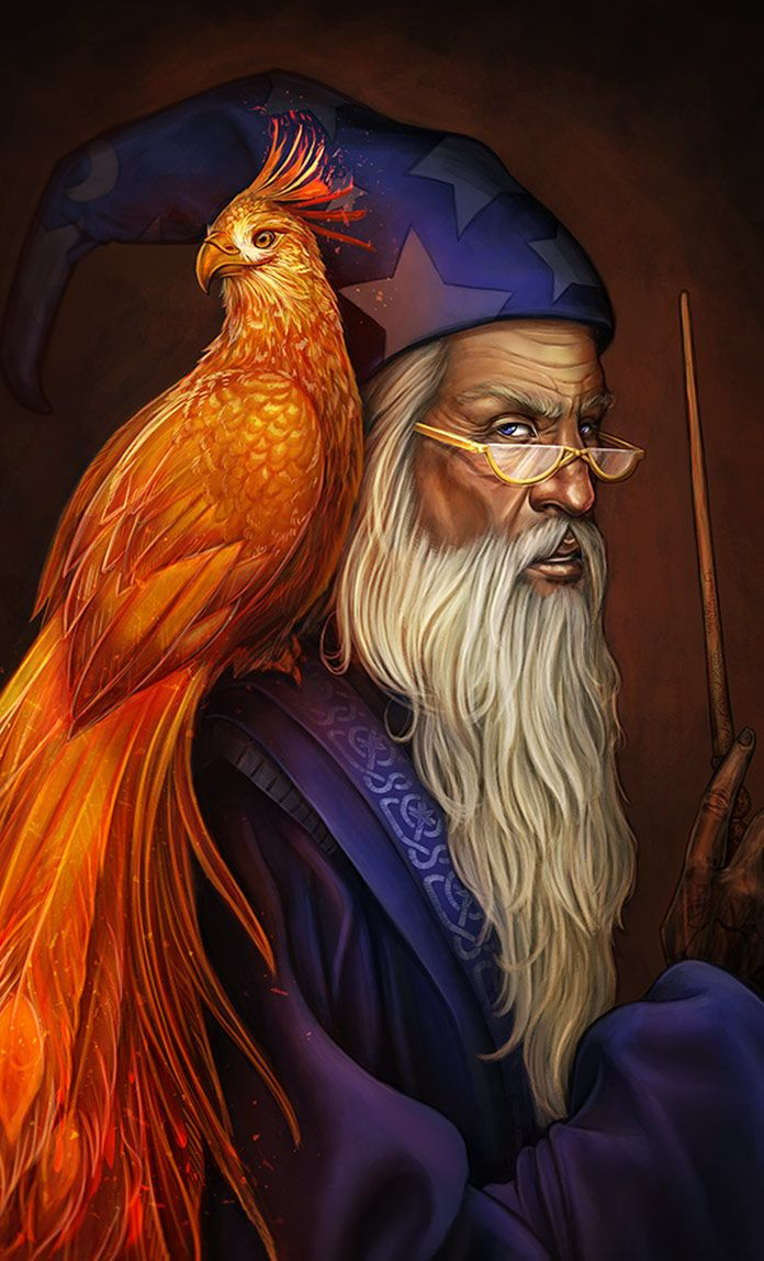 Albus dumbledore by dapatches on deviantart phoenix harry potter fan art harry potter art - Harry potter dessin ...