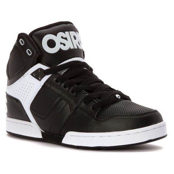 Osiris Mens Sneakers Black/White