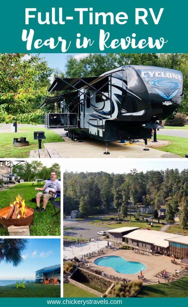 FullTime RV 2018 Year in Review (With images) Full