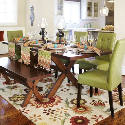 extension trestle table brown at pier one imports canada dining room furniture round tables 1 and chairs