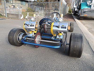 Vintage Rear Dual Engine Go Kart Go Carts Vintage Go