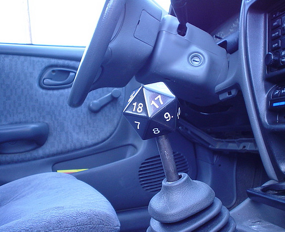 D20 shift knob, I would put this in my car in a heart beat