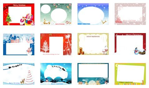 Various Free Christmas Templates Free Photo Card Templates Photo Card Template Free Printable Greeting Cards