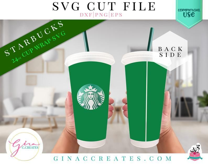 Full Solid Wrap Svg Starbucks Cup Full Wrap Svg In 2020 Starbucks Cups Svg Handmade Cups