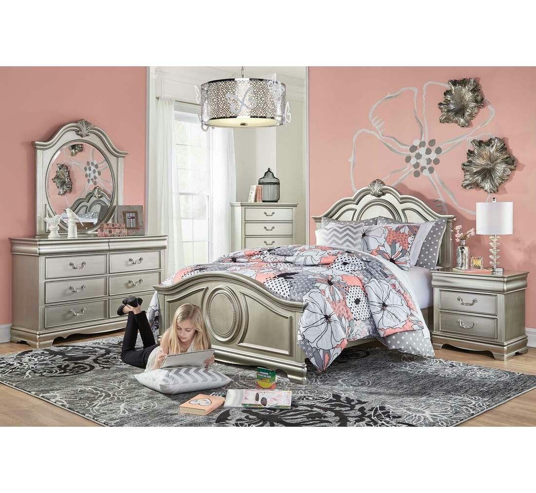 5 Piece Grace Bedroom Set Badcock Furniture Bedroom Design