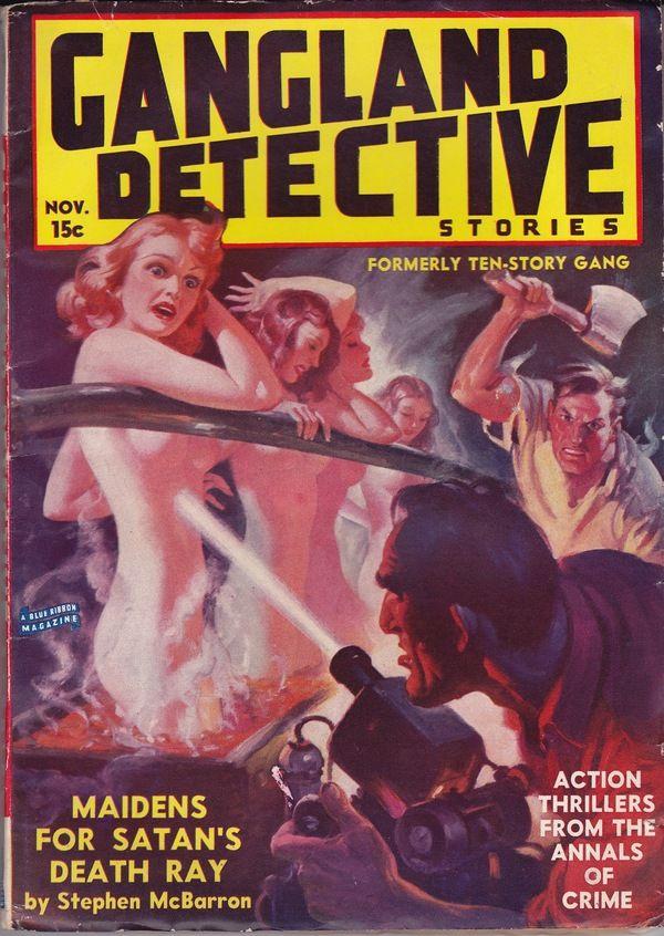 Gangland Detective Stories Vol. 2, No. 1   Pulp Science Fiction ...