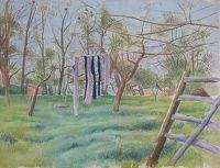 James Wood: Washing Line, circa 1930