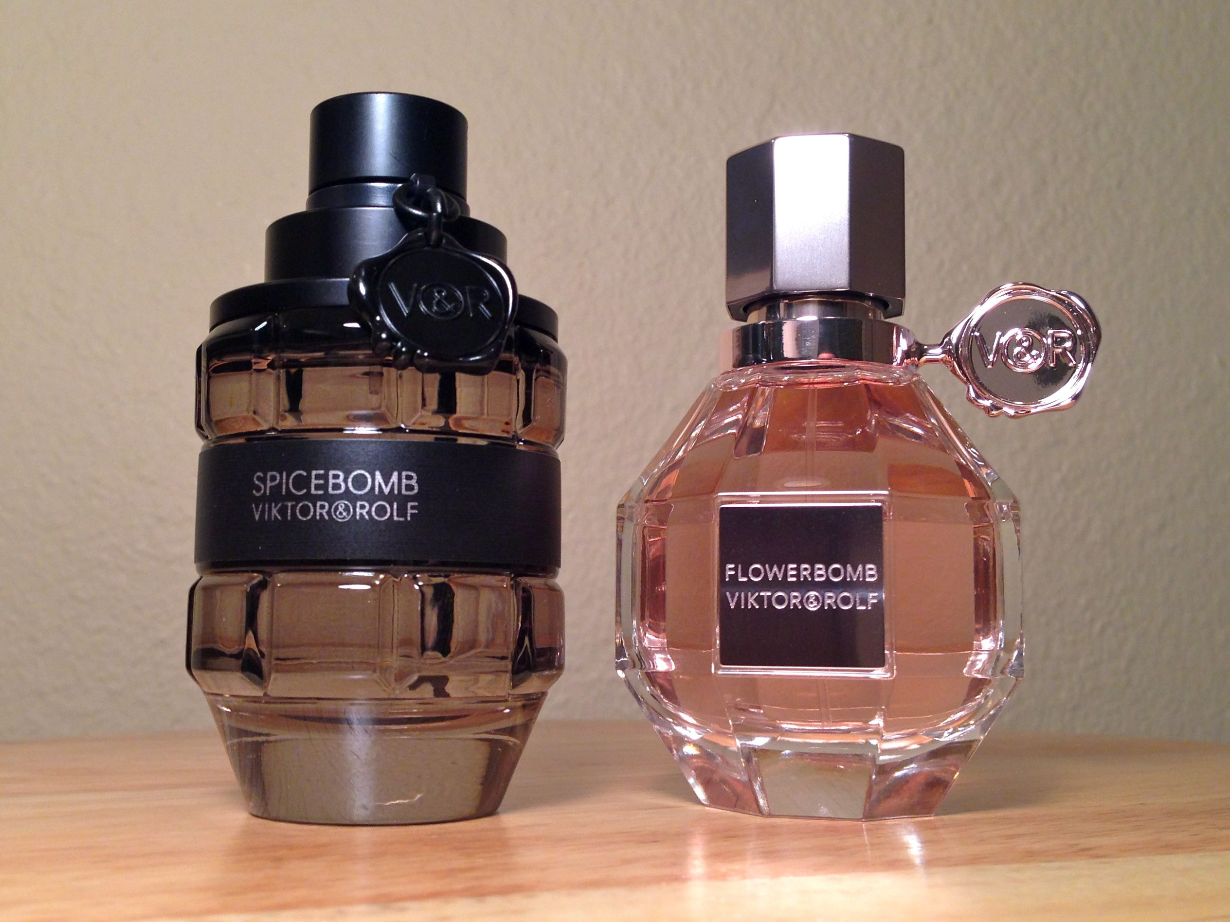 His & Hers Viktor & Rolf cologne and perfume spice flower