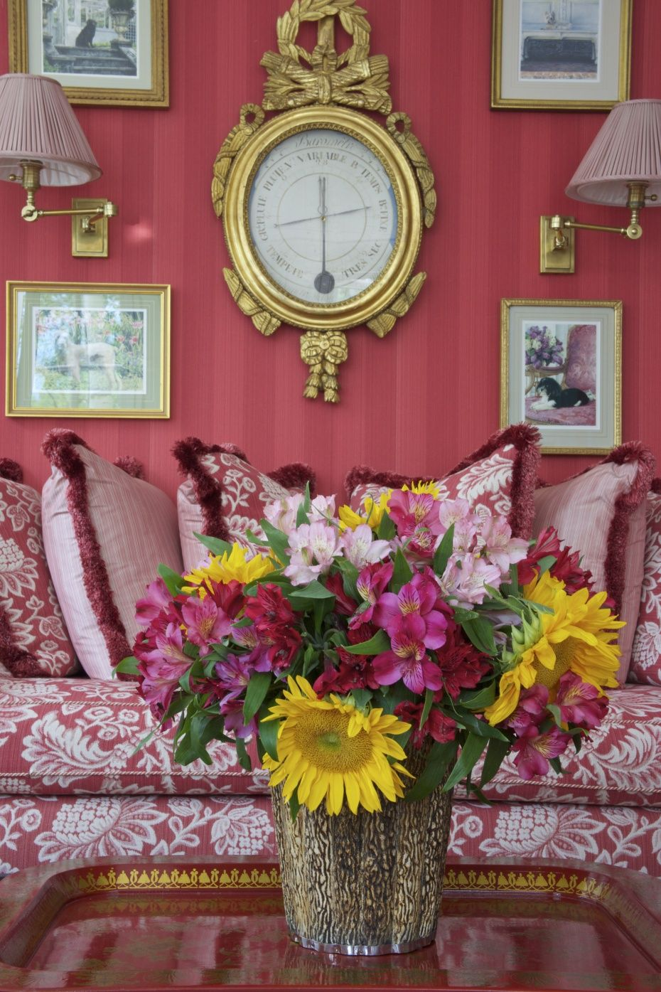 Carolyne Roehm Interior, love her work! TG