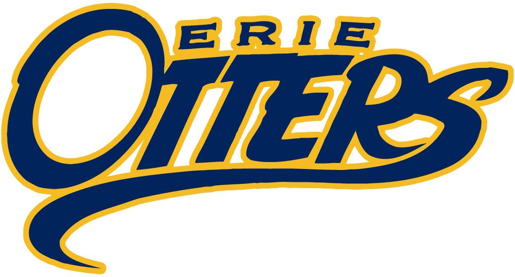 Erie Otters Wordmark Logo (2014) -