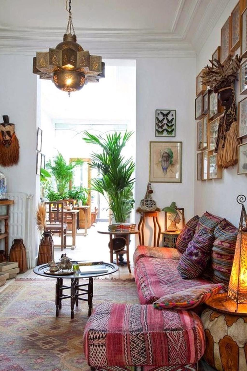 Incroyable 31 Best Bohemian Interior Design Ideas Salon Marocain Design, Salon  Oriental Moderne, Boho Chic