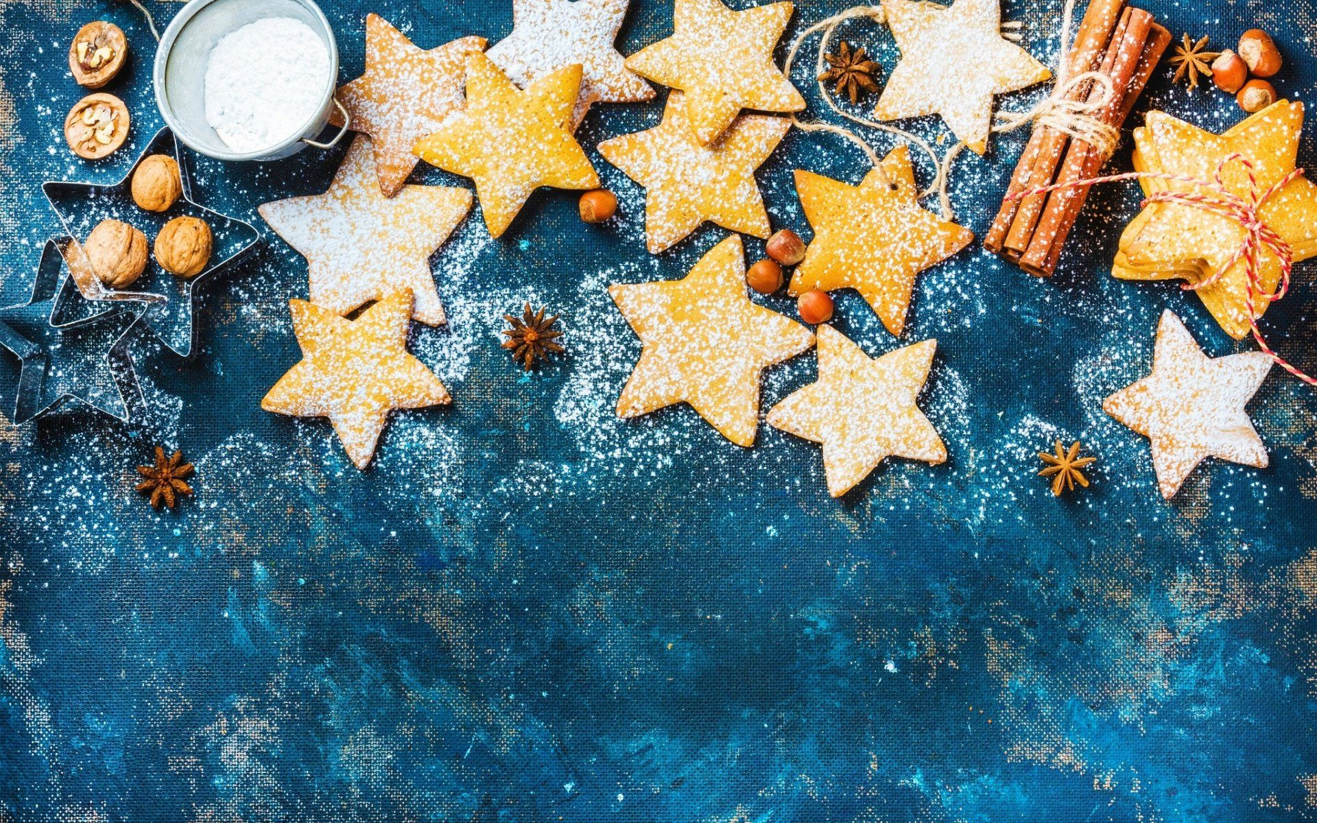 Navidad, Nueces, Estrellas