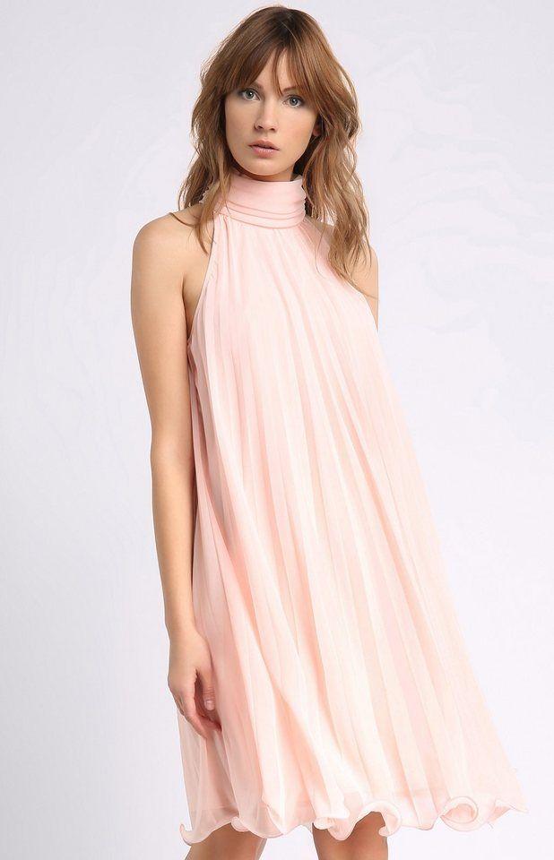 Apart Plissèekleid für 129,90€. zartes Kleid, aus leichtem ...