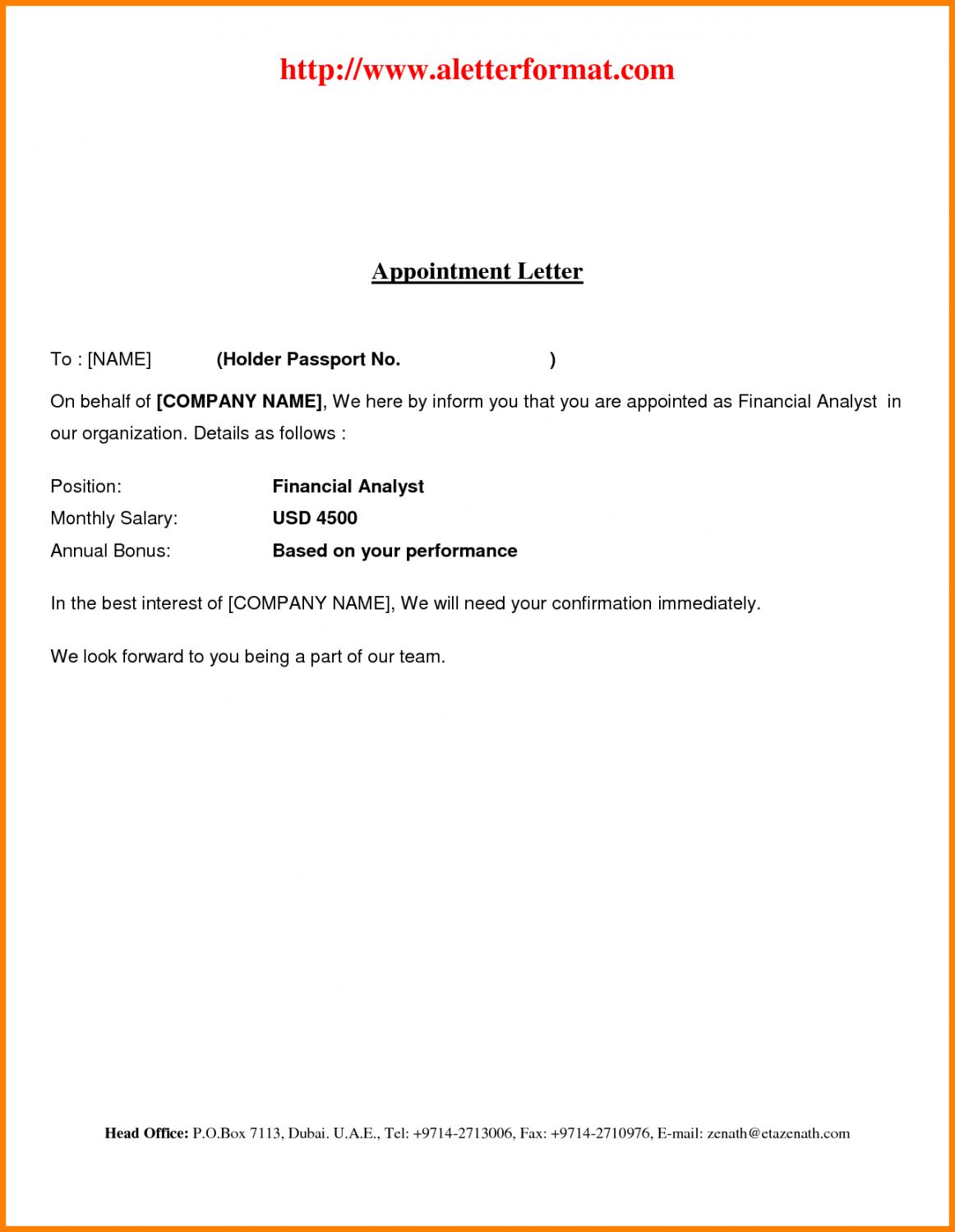 Certificate Of Appointment Template In 2020 Lettering Business