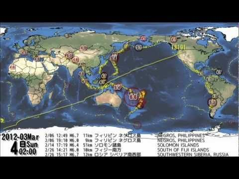 World earthquakes 2010 2012 visualization map youtube asia world earthquakes 2010 2012 visualization map youtube gumiabroncs Gallery