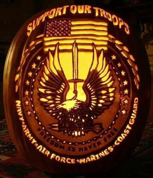 Hot Dogs Guns Happy Halloween Pumpkin Carving Awesome