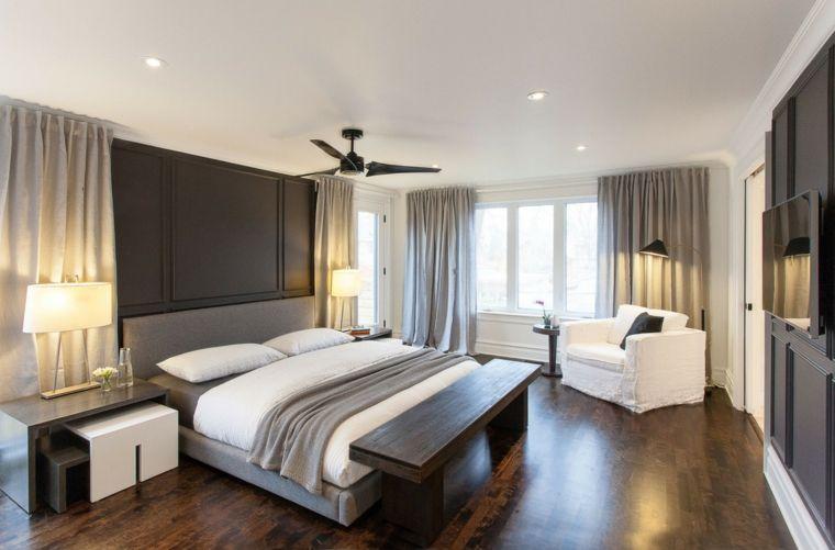 Dormitorios originales 50+ ideas para el diseño | Bancos de madera ...